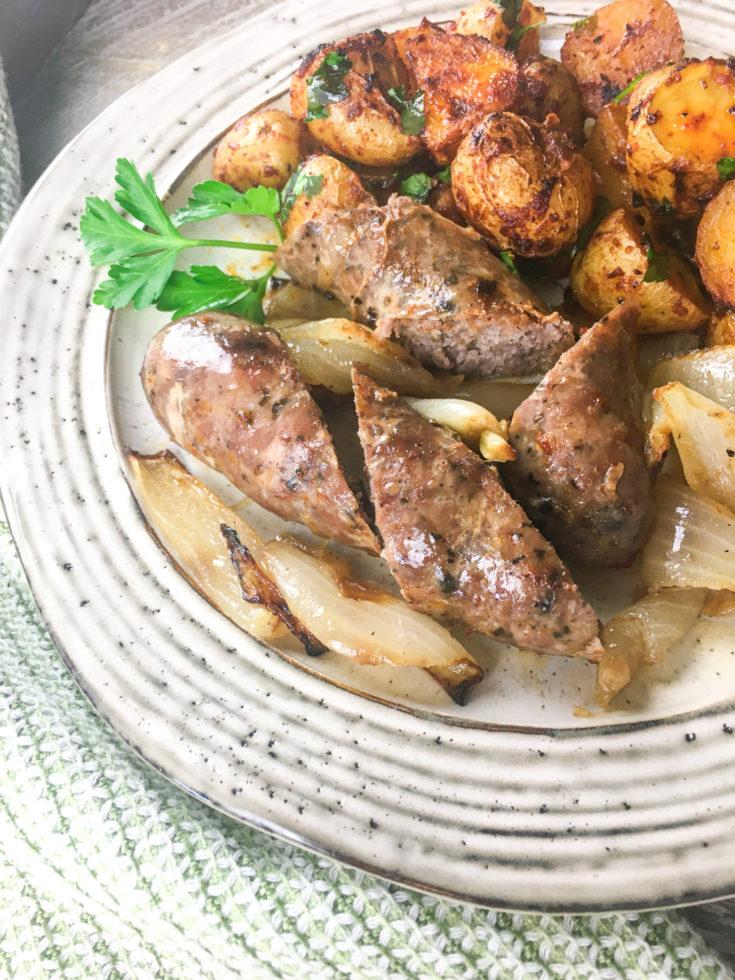 Sheet Pan Chorizo with Spanish-Style Potatoes
