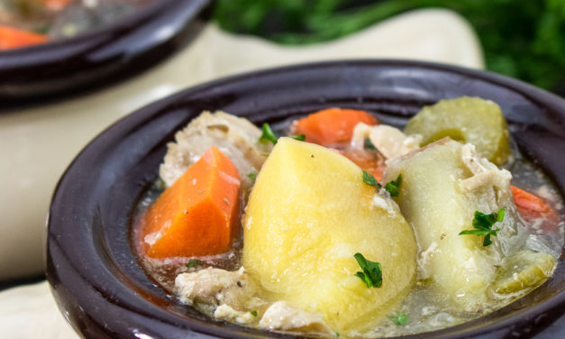 Slow Cooker Chicken and Vegetable Stew