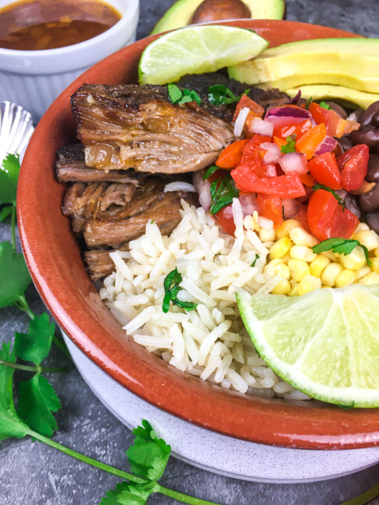 Instant Pot Pork Carnitas Bowls